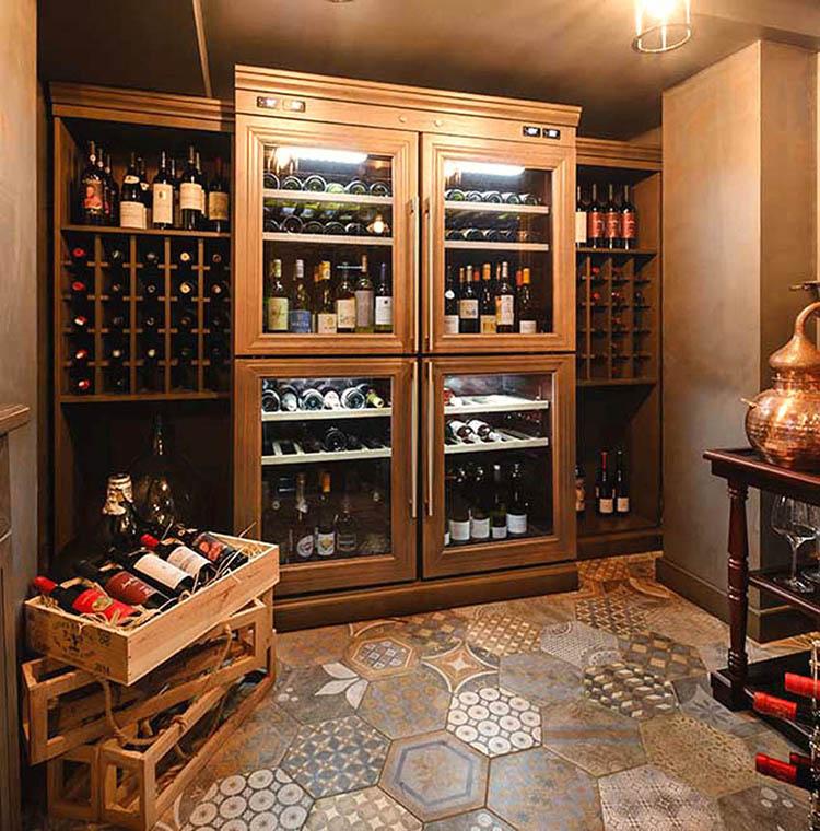 Условия длительного хранение вина
