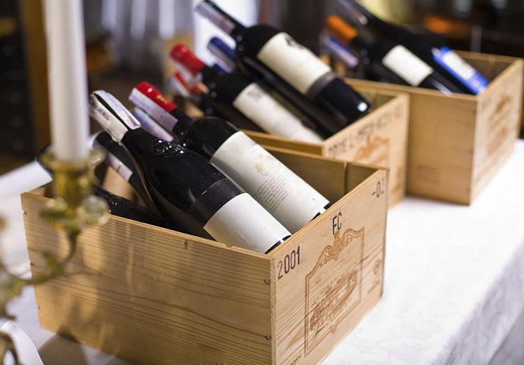Колебание температуры при хранении вина