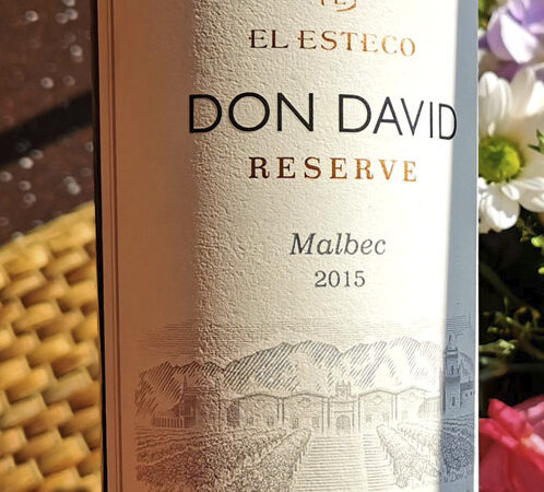 Образец из подвала — Don David Malbec Reserve 2015